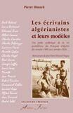 Couverture du livre « Les ecrivains algérianistes et leurs modèles » de Pierre Dimech aux éditions Atelier Fol'fer