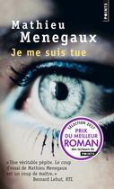 Couverture du livre « Je me suis tue » de Mathieu Menegaux aux éditions Points
