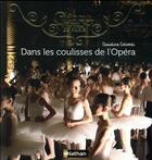 Couverture du livre « Dans les coulisses de l'Opéra » de Claudine Colozzi aux éditions Nathan