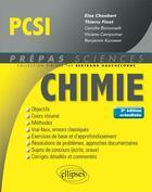 Couverture du livre « Chimie pcsi 3eme edition actualisee » de Choubert Finot aux éditions Ellipses Marketing