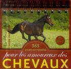 Couverture du livre « Pensées pour les amoureux des chevaux 2015 » de Collectif aux éditions Editions 365