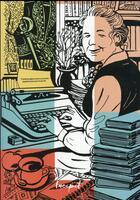 Couverture du livre « L'ancien régime : la première femme à l'Academie française » de Francois Begaudeau aux éditions Steinkis