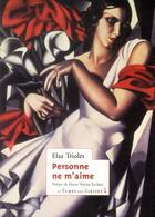 Couverture du livre « Personne ne m'aime » de Elsa Triolet aux éditions Le Temps Des Cerises