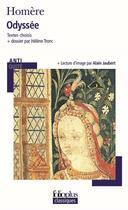 Couverture du livre « Odyssée » de Homere et Alain Jaubert aux éditions Gallimard