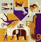 Couverture du livre « Fredun Shapur Puzzle Zoo Multi View /Francais/Anglais » de Fredun Shapur aux éditions Piqpoq