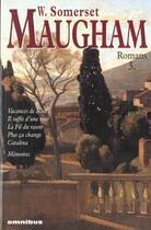 Couverture du livre « Romans t.3 » de William Somerset Maugham aux éditions Omnibus