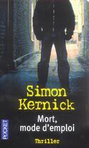 Couverture du livre « Mort, mode d'emploi » de Simon Kernick aux éditions Pocket