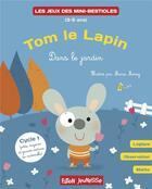 Couverture du livre « Tom le lapin apprend à compter : dans le jardin » de Marie Morey et Lucie Hoornaert aux éditions Faton Jeunesse