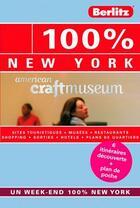 Couverture du livre « 100% ; New York » de Floor Bremer aux éditions Berlitz