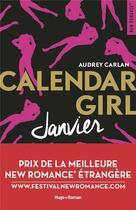 Couverture du livre « Calendar girl T.1 ; janvier » de Audrey Carlan aux éditions Hugo Roman