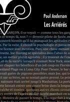 Couverture du livre « Les arriérés » de Poul Anderson aux éditions Le Belial