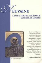 Couverture du livre « Neuvaine ; à Saint Michel Archange, guerrier de lumière » de Paul-Marie Mba aux éditions Ephese