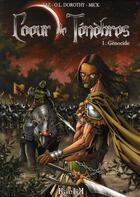 Couverture du livre « Coeur de ténèbres t.1 ; génocide » de Zaz et O.L. Dorothy aux éditions Kantik