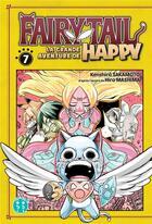 Couverture du livre « Fairy Tail - la grande aventure de Happy T.7 » de Kenshiro Sakamoto aux éditions Nobi Nobi