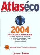 Couverture du livre « Atlaseco 2004 » de Collectif aux éditions Le Nouvel Observateur