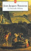 Couverture du livre « La nouvelle heloise » de Rousseau J-J. aux éditions Lgf