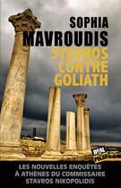 Couverture du livre « Stavros contre Goliath » de Sophia Mavroudis aux éditions Jigal