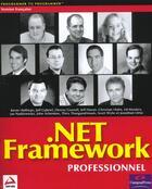 Couverture du livre « .net framework professionnel wrox » de Hasan aux éditions Wrox Press