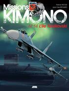 Couverture du livre « Missions Kimono T.14 ; l'île Tsiolkovski » de Jean-Yves Brouard et Francis Nicole aux éditions Jyb Aventures