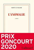 Couverture du livre « L'anomalie » de Herve Le Tellier aux éditions Gallimard
