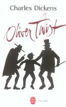 Couverture du livre « Les aventures d'Oliver Twist » de Charles Dickens aux éditions Lgf