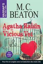 Couverture du livre « Agatha Raisin and the vicious vet » de Beaton Mc aux éditions Harrap's