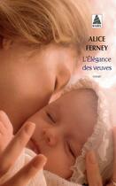 Couverture du livre « L'élégance des veuves » de Alice Ferney aux éditions Actes Sud