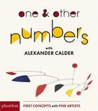 Couverture du livre « One & other numbers: with Calder » de Alexander Calder aux éditions Phaidon Jeunesse