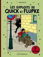 Couverture du livre « QUICK ET FLUPKE ; les exploits de Quick et Flupke ; INTEGRALE VOL.1 » de Herge aux éditions Casterman