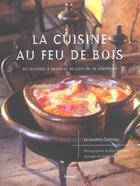 Couverture du livre « La cuisine au feu de bois » de Jacqueline Queneau aux éditions Aubanel