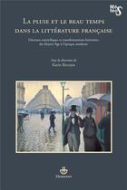Couverture du livre « La Pluie Et Le Beau Temps Dans La Litterature Francaise » de Becker-K aux éditions Hermann