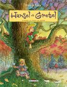 Couverture du livre « Hansel et Gretel » de Philippe Petit aux éditions Delcourt
