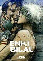 Couverture du livre « Enki Bilal » de Enki Bilal et Serge Lemoine aux éditions Fhel