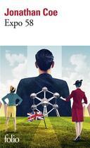 Couverture du livre « Expo 58 » de Jonathan Coe aux éditions Gallimard