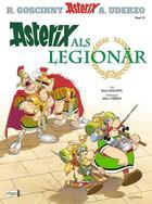 Couverture du livre « Asterix T.10 ; Asterix als legionär » de Rene Goscinny et Albert Uderzo aux éditions Dargaud