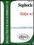 Couverture du livre « Etude Sur Sophocle Oedipe Roi Epreuves De Lettres Terminales L/Es » de Dubarry Sodini aux éditions Ellipses Marketing