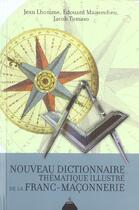 Couverture du livre « Nouveau dictionnaire thematique de la franc maconnerie » de Jean Lhomme aux éditions Dervy