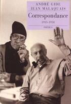 Couverture du livre « Correspondance ; 1935-1950 » de Andre Gide et Jean Malaquais aux éditions Phebus