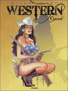 Couverture du livre « Western corset » de Thierry Girod aux éditions Cleopas