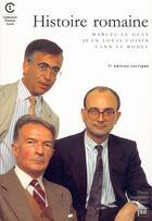Couverture du livre « Histoire romaine (7e ed) » de Le Glay/Voisin M/J.L aux éditions Puf
