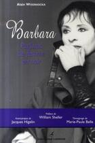Couverture du livre « Barbara ; parfums de femme en noir » de Wodrascka/Sheller aux éditions Editions Carpentier