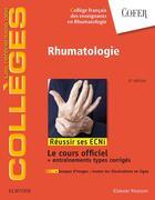 Couverture du livre « Rhumatologie ; réussir les ECNI » de Collectif aux éditions Elsevier-masson
