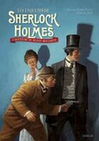 Couverture du livre « Les enquêtes de Sherlock Holmes ; l'aventure du ruban moucheté » de Arthur Conan Doyle aux éditions Sarbacane