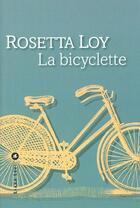 Couverture du livre « Bicyclette, la » de Rosetta Loy aux éditions Liana Levi