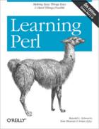 Couverture du livre « Learning Perl » de Randal L. Schwartz aux éditions O'reilly Media