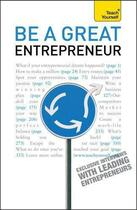 Couverture du livre « Be A Great Entrepreneur: Teach Yourself » de Macmillan Alex aux éditions Hodder Education Digital
