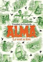 Couverture du livre « Alma ; le vent se lève » de Timothée de Fombelle aux éditions Gallimard-jeunesse