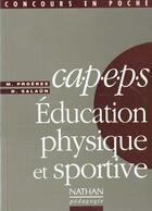 Couverture du livre « Capeps » de Salaun et Froeres aux éditions Nathan