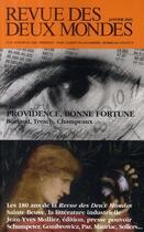 Couverture du livre « Providence, bonne fortune ; Boriaud, Tresch, Champeaux » de Collectif aux éditions Revue Des Deux Mondes
