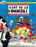 Couverture du livre « Les aventures de Manzana et Patxaran ; c'est de la bombe! » de Pierre George et Jean-Yves Viollier aux éditions Atlantica